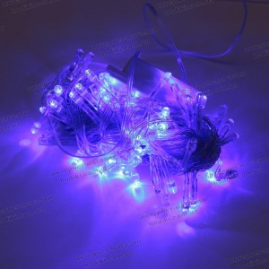Гирлянда синяя 100LED диод  (код 9590)