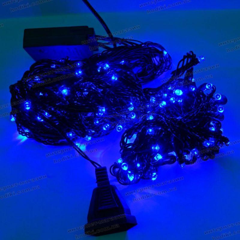 Гирлянда Водопад 160LED синяя  (код 9593)