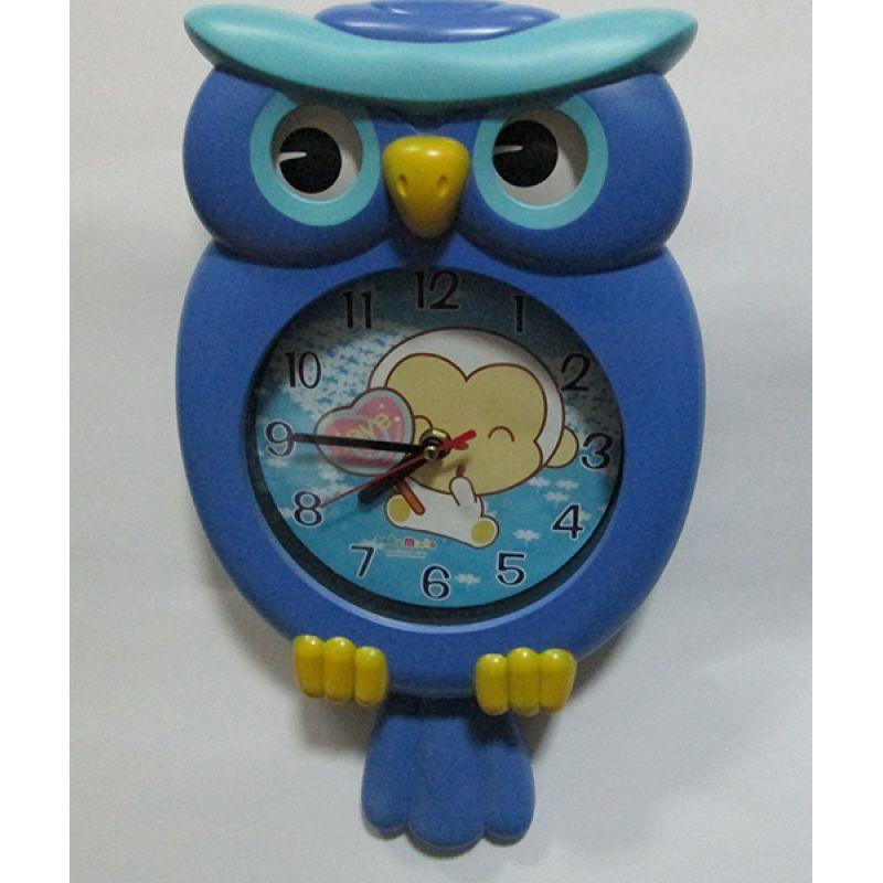 Часы настенные детские Сова (код 103)