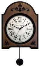 Часы настенные механические с маятником и боем фото