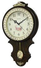 Купить деревянные настенные часы с маятником