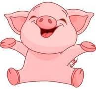 Магниты свинья на новый 2019 год оптом